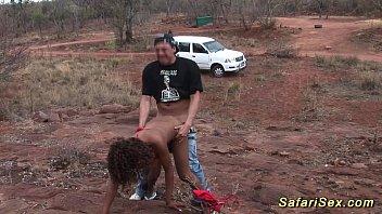 Секс с худыми африканками