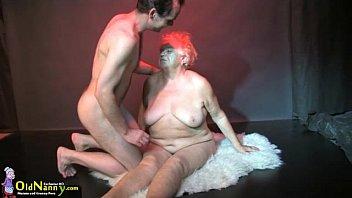 OldNanny Big tits bbw granny have a threesome sex hardcore