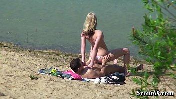 Deutsches Teeny Paar heimlich bei Sex am Strand spy deutsch