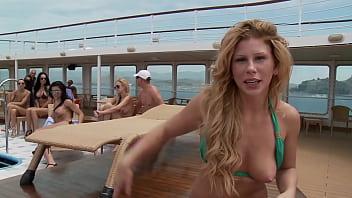 Massive orgy on a boat