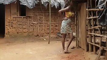 Young boy sexs older village woman