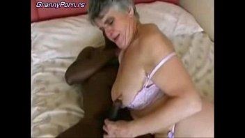 Grey Granny Fuck Black Guy