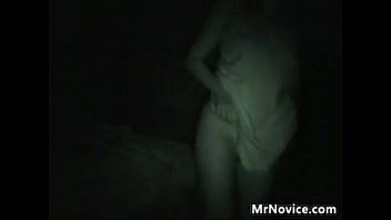 Nice Ass In Panties Being Teased At Night