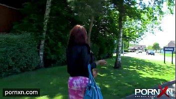 Ebony Milf Flashing in public