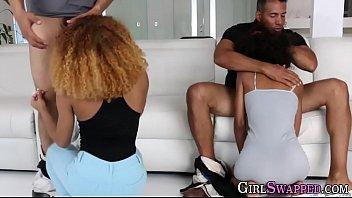 Ebony stepdaughters suck