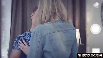 Blonde Vixen Mia Cruze Sucks Her Boyfriend'_s Cock and Takes It in Her Pussy