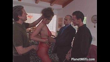 Hot and horny slut fucks like a slave