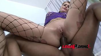 Karina Grand DAP'_ed (hot slut fucked by 3 guys &amp_ takes 2 cocks in the ass) SZ789