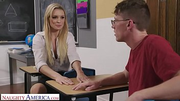 Naughty America Professor McKenna fucks student after class - 69VClub.Com