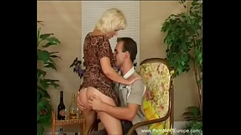 German Mom Fucks Horniest Son
