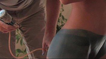 Susanna Spears Body-Art Naked girl in public - 69VClub.Com