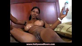 Black lesbian sucking boobs