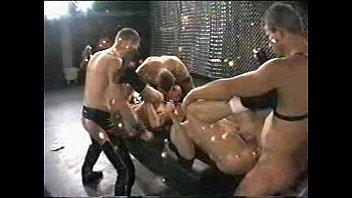 Leather men bareback orgies