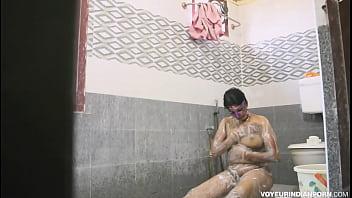 Indian Bhabhi Amrita Taking Shower