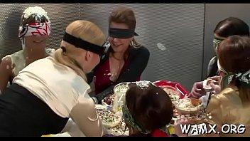 Messy adult fun on web lesbians-kissing