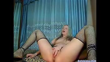 Russian Godess Masturbating and Squirtingg
