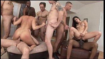 Anal orgy