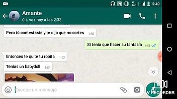 WhatsApp con amante