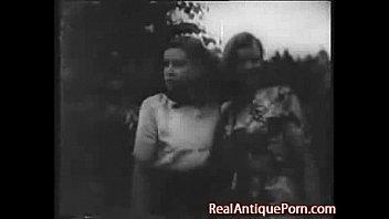 Старое черно белое ретро порно