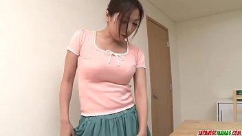 Mirei Yokoyama gargantas o pau grande em pov perfeito - mais em Japanesemamas com
