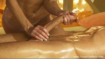 Handjob Massage From Gorgeous Blonde