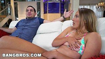 BANGBROS - 18 yo Teen Alyssa Cole Fucks Her Step Brother