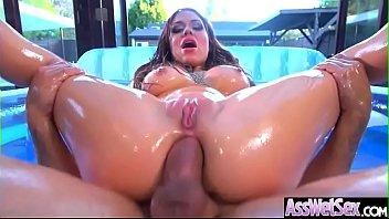 Anal Sex With Horny Big Butt Oiled Girl (Karmen Karma) video-16 Thumb