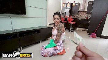 BANGBROS - Unbelievably Sexy Latin Maid Mia Martinez Fucks Her Client Derrick Ferrari