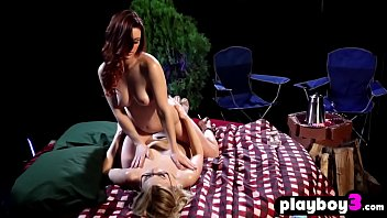 Cute model teens massage each other to feel relaxed