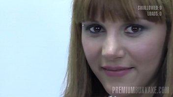 Premium Bukkake - Michelle swallows 83 huge mouthful cumshots tumblr xxx video