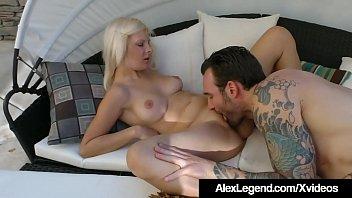 Alessandra Noir Fucked In The Backyard By Alex Legend!