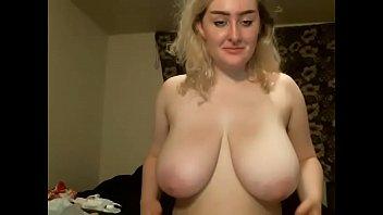 Huge tits blonde girl webcam porn