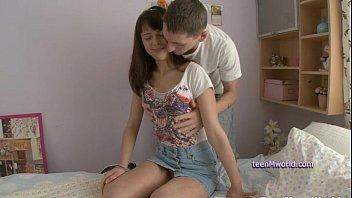 Very nice teen Dania creampied