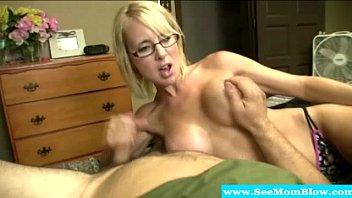 Spex mature sucks cock and gets fucked