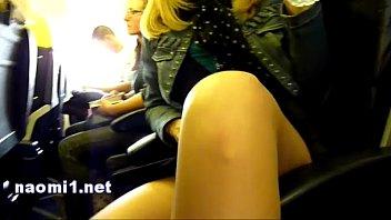 naomi1 airplane handjob