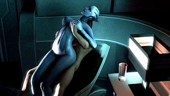 Mass Liara &amp_ Kaidan Romance Scene