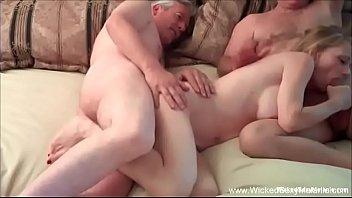 Hotwife GILF Has Intense Threesome