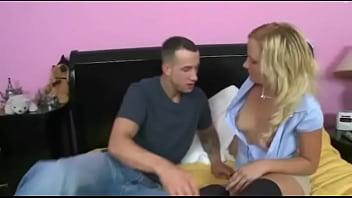 Perky tits 18yo blonde girl gets a hardcore pounding