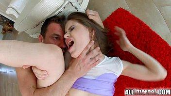Allinternal cutie shows off her anal cumshot