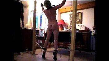 Sexy babe nude hole