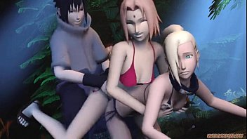 Naruto 3D gif compilation  hentai