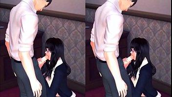 [ VR ][ Honey Girl 3D ] Em thư kí và anh giám đốc