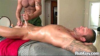Rubgay hard cock massagep5