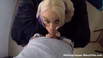 Emo Punk Alternative Slut Gets Pounded and Chokes on Dick