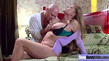 Naughty Housewife (darla crane) With Big Juggs Enjoy Hard Sex mov-09