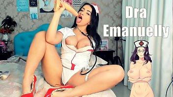 Enfermeira Gostosa fazendo você ter a MELHOR GOZADA, Doutora Emanuelly Gozando na BOQUINHA - Naughty Nurse HOT
