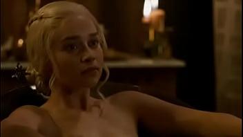 Emilia clarke Game of thrones nude scene season 3 episode 8