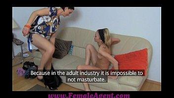 FemaleAgent Licking for work