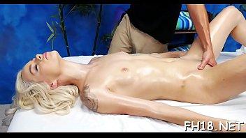 Booty massage porn
