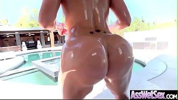(Savana Styles) Oiled Big Butt Slut Girl Enjoy ...